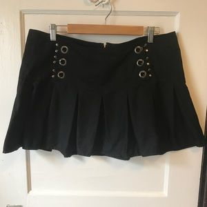 Hot Topic Goth Mini Skirt
